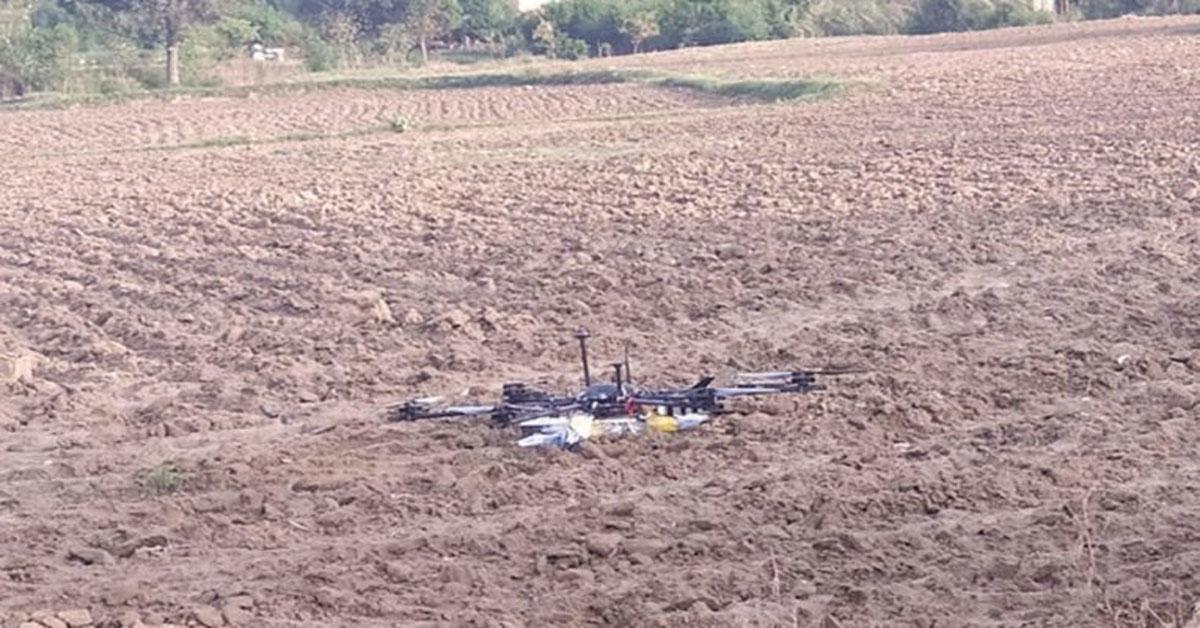 बीएसएफ ने पाकिस्तानी ड्रोन को मार गिराया