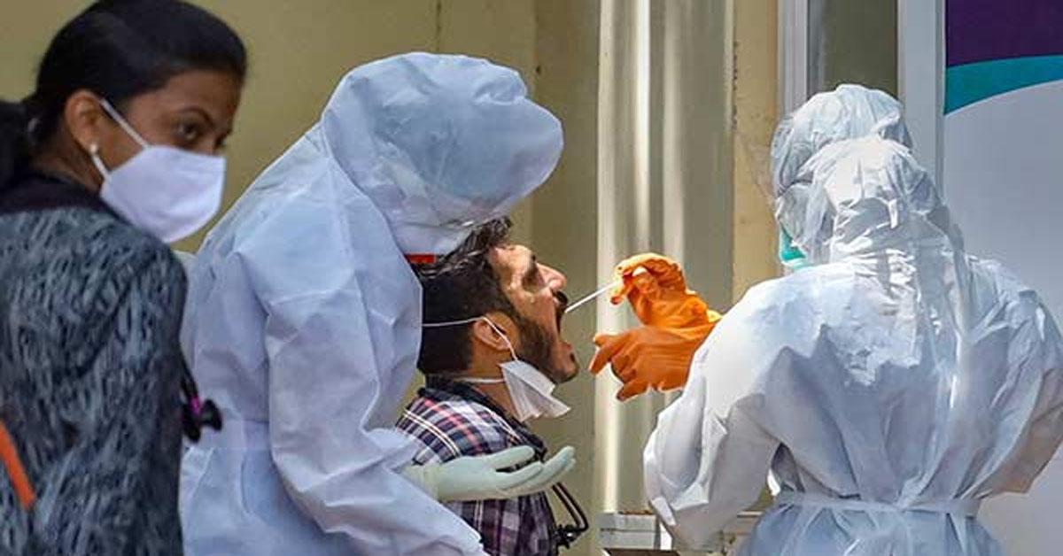 भारत में कोरोना  वायरस का कहर, पिछले 24 घंटे में दर्ज हुए सवा लाख से ऊपर नए मामले