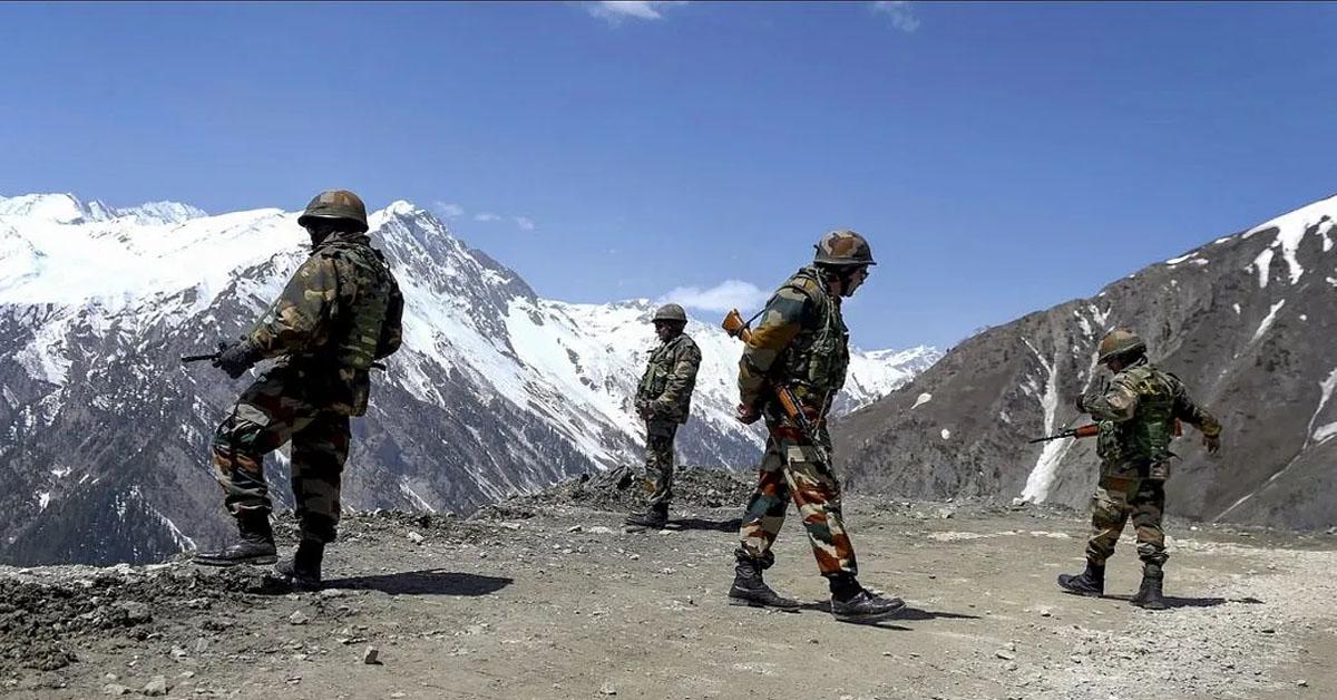 गलवान घाटी में 20 भारतीय सैनिक शहीद
