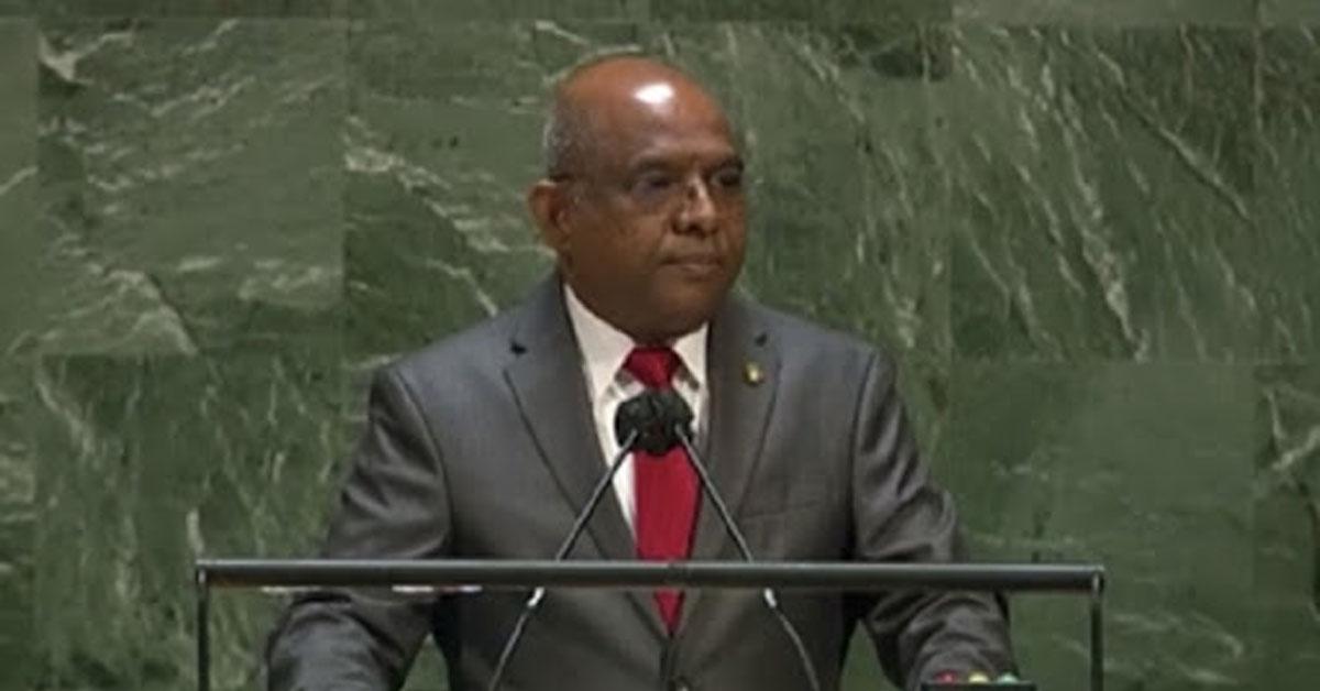 मालदीव के विदेश मंत्री अब्दुल्ला शाहिद संयुक्त राष्ट्र महासभा के अध्यक्ष चुने गए