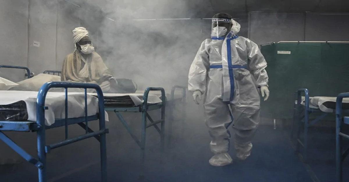 भारत में फिर एक दिन में दर्ज हुए सबसे ज़्यादा 3,79,257 नए कोरोना  वायरस केस