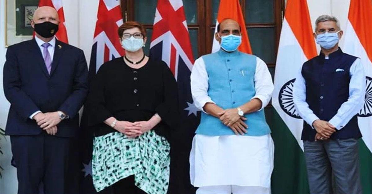अफगानिस्तान की जमीन का किसी भी रूप में आतंकवाद के लिये इस्तेमाल न हो : भारत, ऑस्ट्रेलिया ने कहा