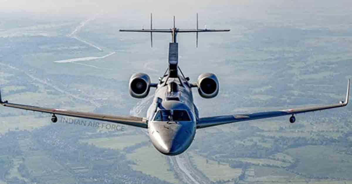 भारतीय वायुसेना को मिलेंगे 6 'आई इन द स्काई' विमान