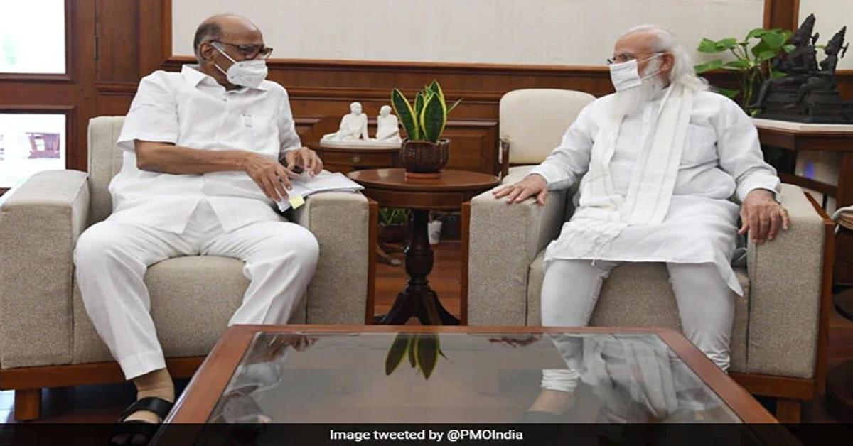 शरद पवार और PM मोदी के बीच 50 मिनट तक चली बैठक, सियासी अटकलें तेज