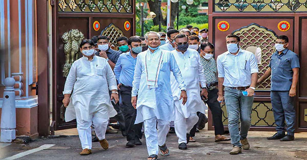 विधानसभा का सत्र बुलाने के लिए CM गहलोत ने भेजा राज्यपाल को नया प्रस्ताव