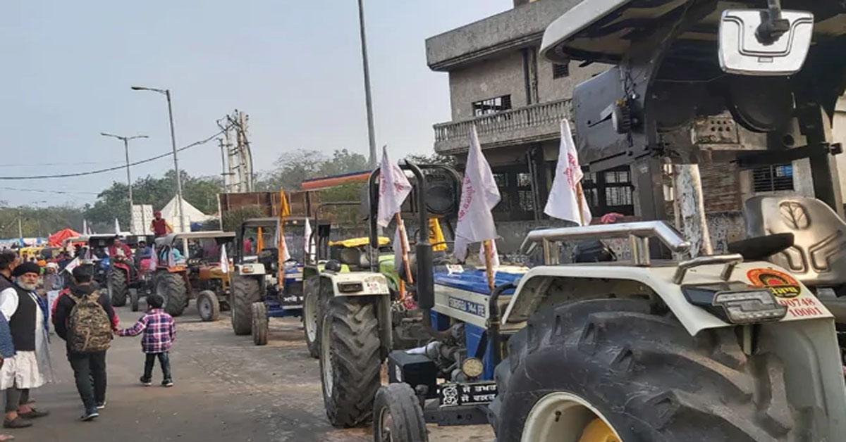 किसानों की गुरुवार को ट्रैक्टर रैली निकालने की योजना, 26 जनवरी के ट्रैक्टर परेड को लेकर होगा रिर्हसल