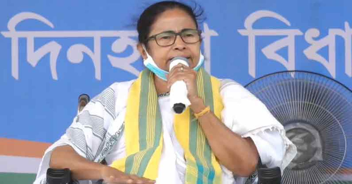 मुस्लिम मतदाताओं से अपील को लेकर चुनाव आयोग ने ममता बनर्जी को भेजा नोटिस