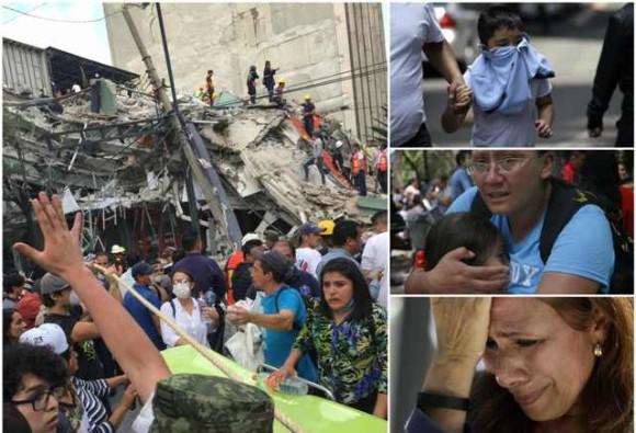 मैक्सिको में 7.1 तीव्रता से आया भीषण भूकंप,  44 इमारतें ढ़ही, 139 लोगों की मौत, कई लोगों के दबे होने की आशंका