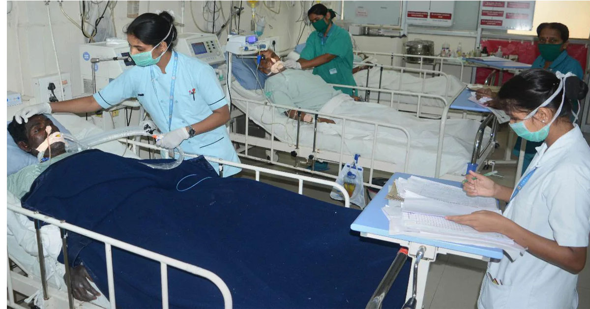 कर्नाटक के अस्पताल में दो घंटे के भीतर 24 मरीज़ों की मौत, कुछ मरीज़ थे कोविड -19 पॉज़िटिव