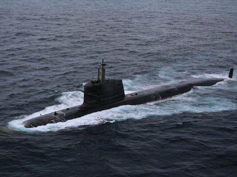 नौसेना को  मिली स्कॉर्पिन सीरीज की पहली पनडुब्बी