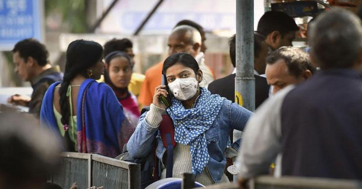 भारत में 24 घंटे में सबसे ज़्यादा 10,956 नए COVID-19 मरीज़