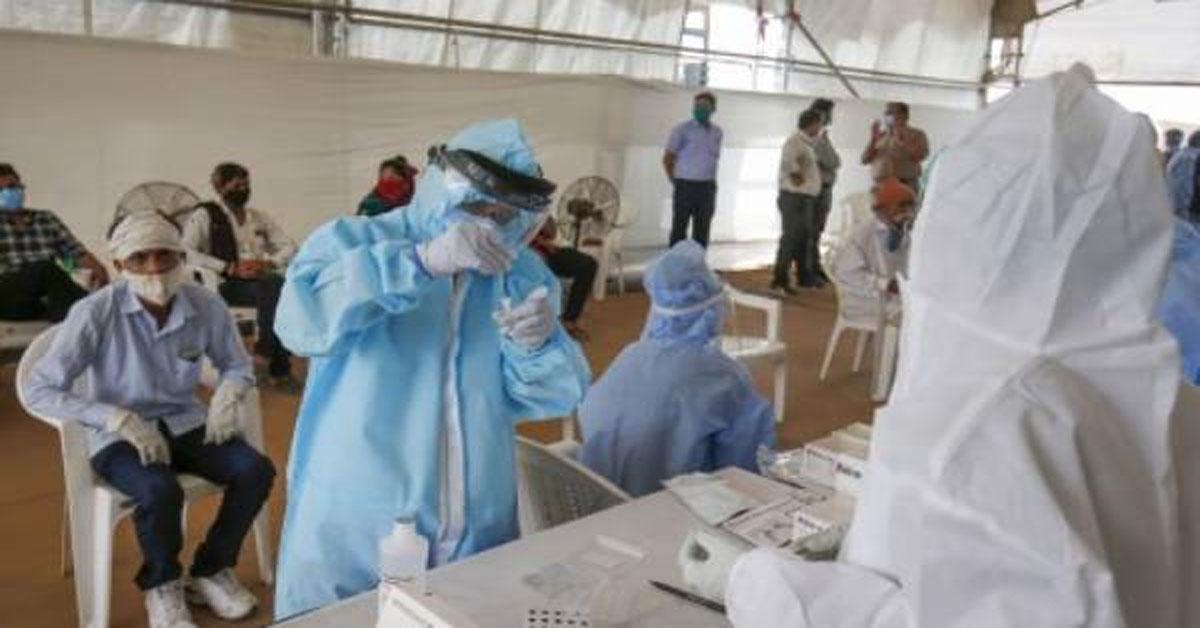 देश में कोरोना के बीते 24 घंटे के भीतर आए 34,884 नए मामले, 671 लोगों की मौत
