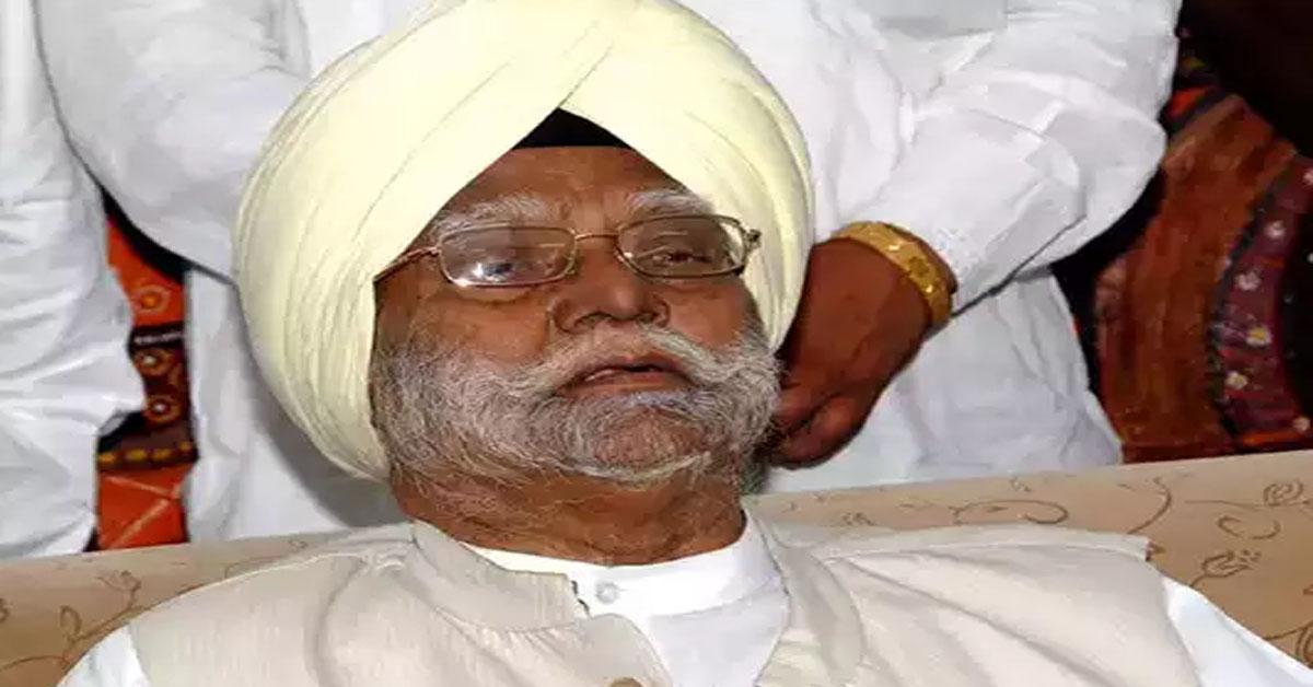 पूर्व केंद्रीय मंत्री बूटा सिंह का निधन, PM मोदी और राहुल गांधी ने जताया शोक