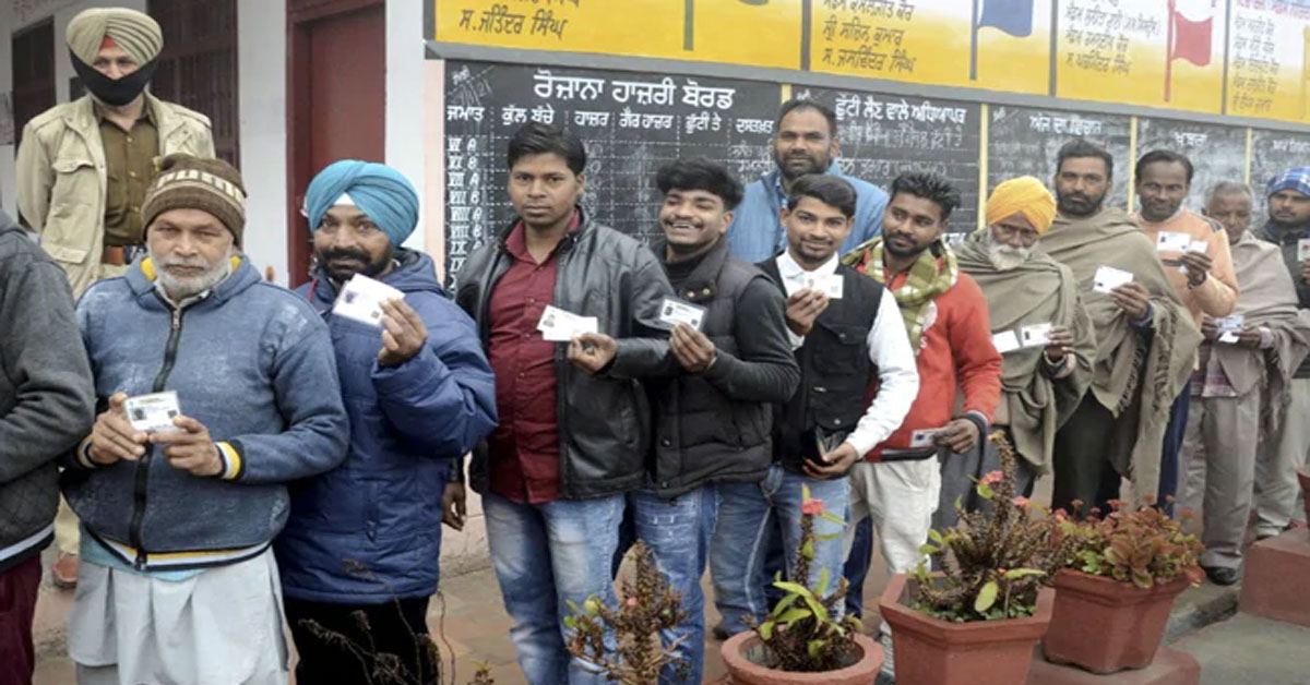 पंजाब निकाय चुनाव : पंजाब में BJP को बड़ा झटका, कांग्रेस ने 7 में से जीती 5 नगर निगम