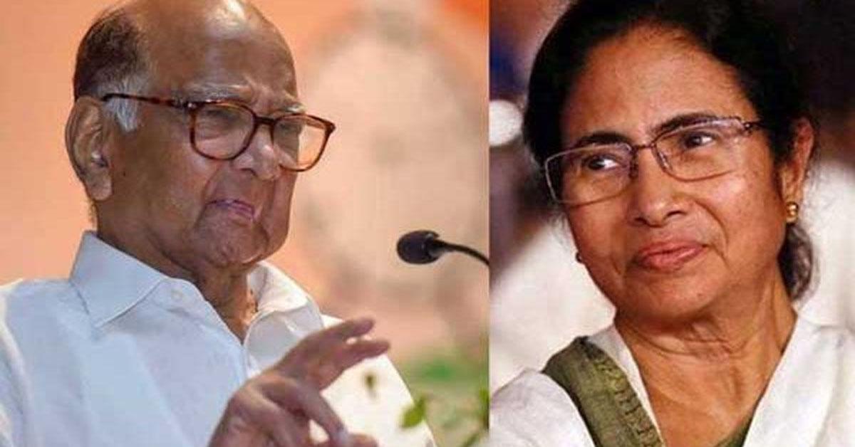 पश्चिम बंगाल चुनाव : रुझानों में 200 पार TMC, शरद पवार ने ममता बनर्जी को दी बधाई