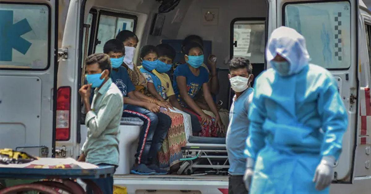 भारत में COVID-19 के कुल मामले 14.83 लाख हुए, पिछले 24 घंटे में 47,703 नए केस