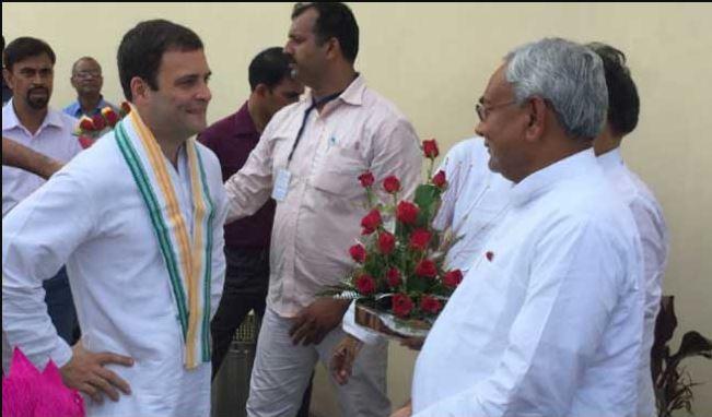 दिल्ली में राहुल गांधी से मिलेंगे बिहार के सीएम नीतीश कुमार
