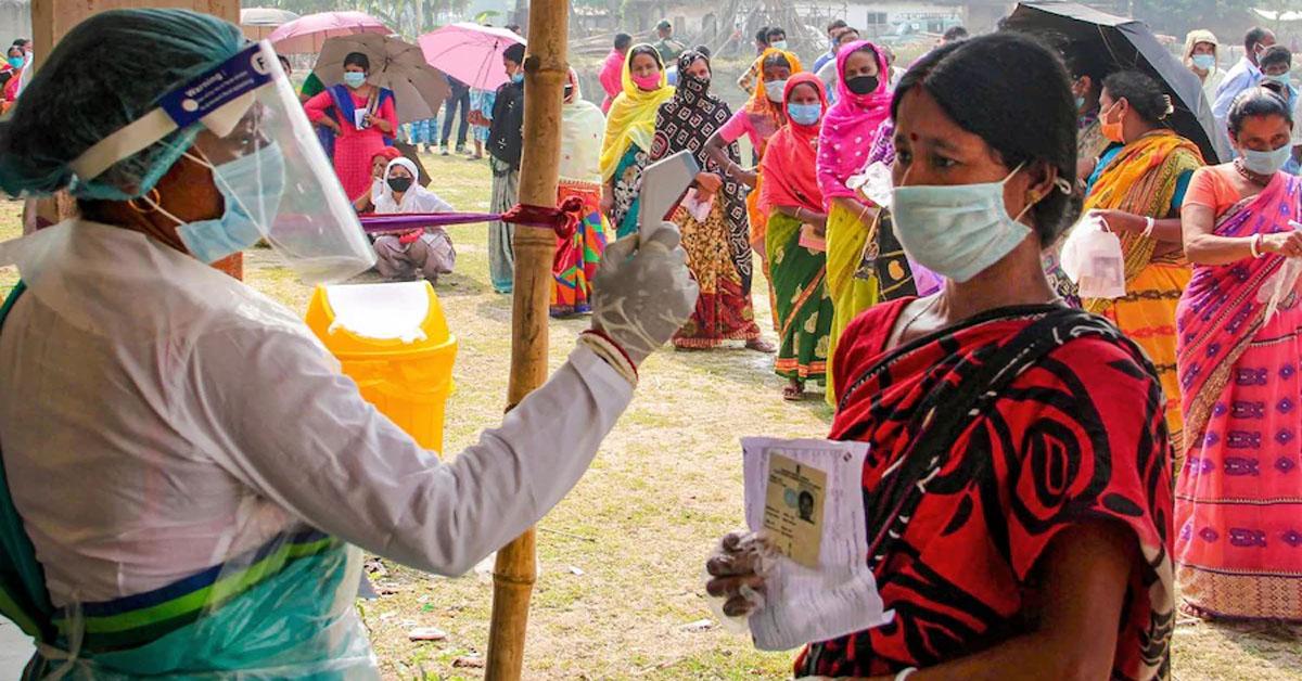 पश्चिम बंगाल चुनाव में अंतिम चरण में विधानसभा की 35 सीटों के लिए  मतदान जारी