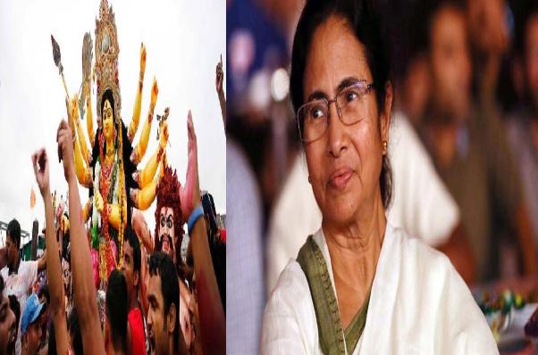 ममता सरकार का नया फरमान, दुर्गा प्रतिमा विसर्जन पर पुलिस लेगी अंतिम फैसला