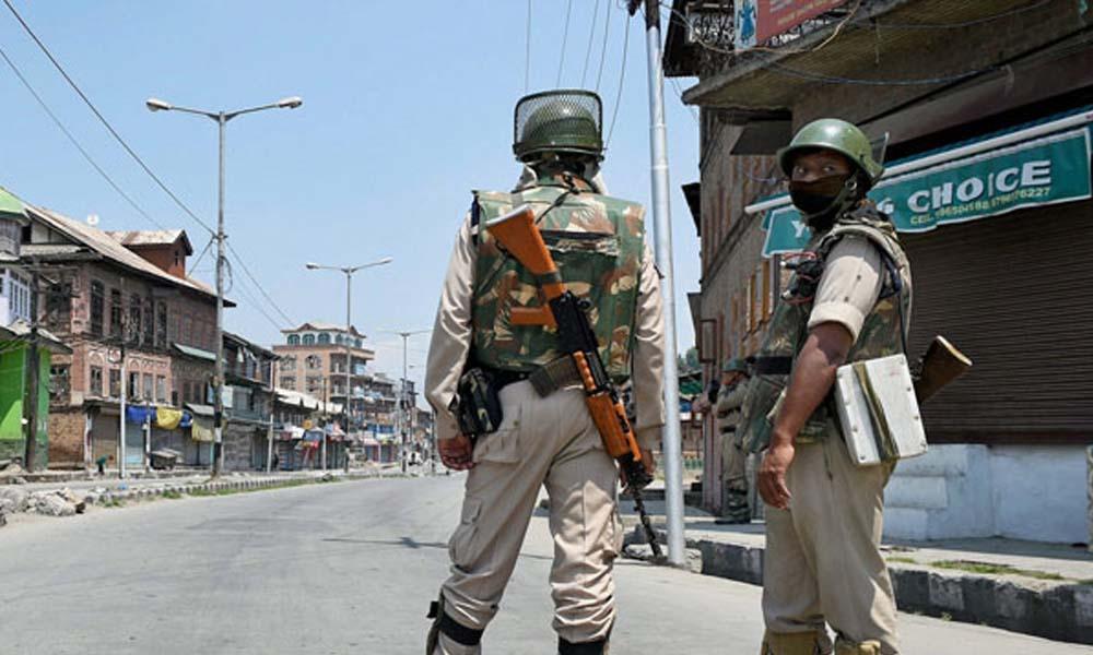 जम्मू व कश्मीर: आतंकवादी ने मारी पुलिस अधिकारी को गोली