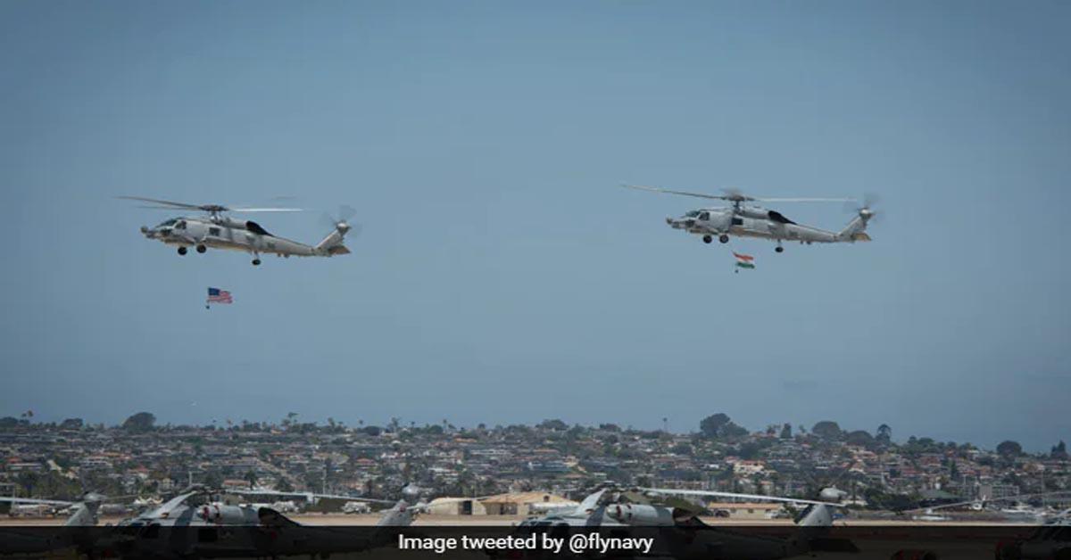 MH-60R हेलीकॉप्टर और P-8 पोसाइडन से भारत-अमेरिकी नौसेना में भागीदारी बढ़ेगी : पेंटागन