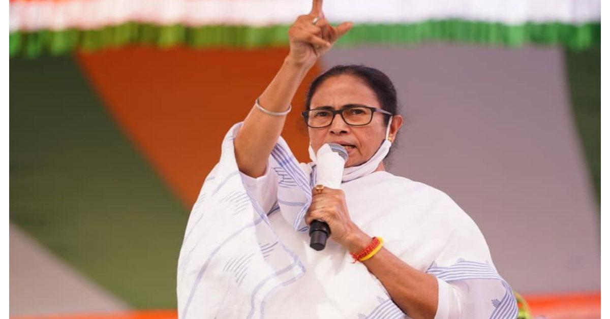 बंगाल चुनाव : शुरुआती रुझानों में भाजपा के शुभेंदु अधिकारी से पीछे हुईं TMC प्रमुख ममता बनर्जी