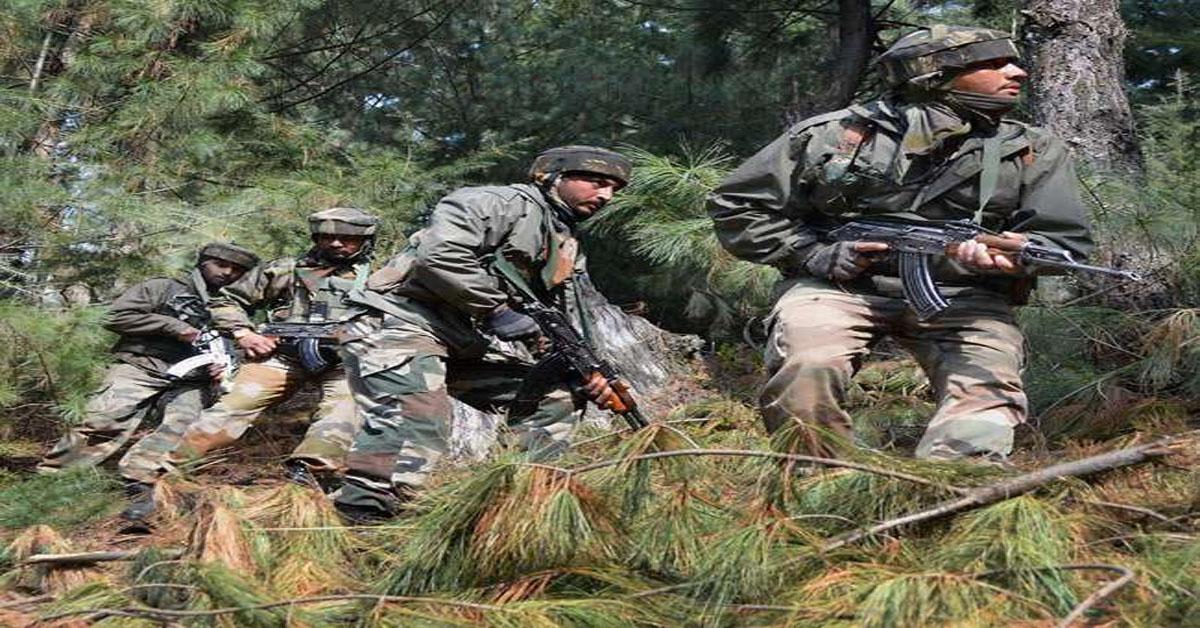 जम्मू कश्मीर में सुरक्षाबलों के साथ मुठभेड़ में दो आतंकवादी मारे गए
