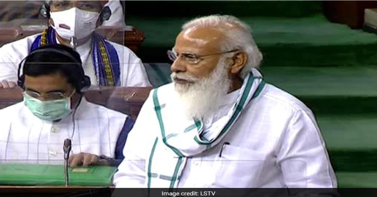 दलितों-पिछड़ों और महिलाओं को मंत्री बनाया जाना विपक्ष को रास नहीं आ रहा, लोकसभा में बोले पीएम मोदी