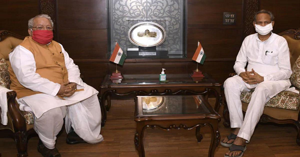 गवर्नर से चौथी बार मिले CM गहलोत, 31 जुलाई को विधानसभा सत्र बुलाने के लिए नहीं माने राज्यपाल